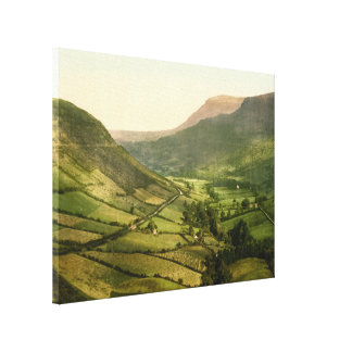 Glenariff, County Antrim, Northern Ireland Stretched Canvas Prints