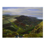 Glenariff, Glens of Antrim Oil Painting - J Casey Postcards