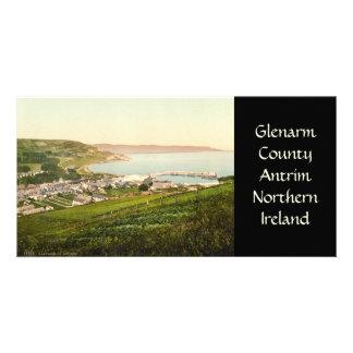 Glenarm County Antrim Custom Photo Card