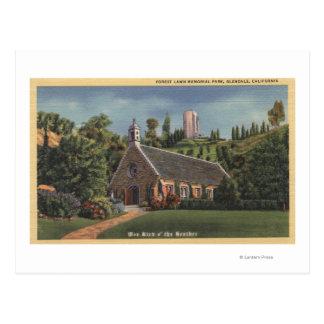 Glencairn, Replica of Annie Laurie's Church Postcard