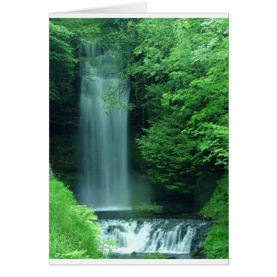 glencar lough falls card