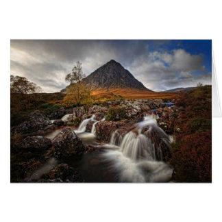 Glencoe, Buchaille Etive Mor, Scotland Card