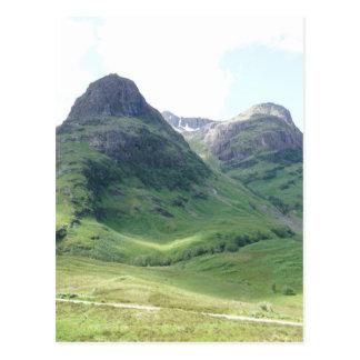 Glencoe , Scotland Postcard