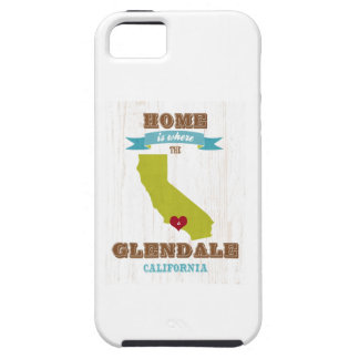 Glendale, California Map – Home Is Where Tough iPhone 5 Case