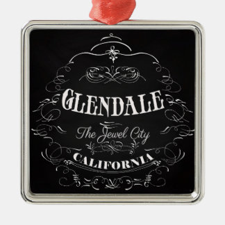 Glendale, California - The Jewel City Christmas Tree Ornaments
