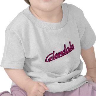Glendale in magenta tee shirt