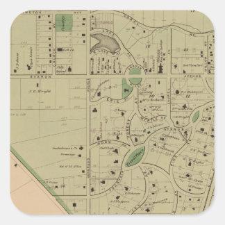 Glendale, Ohio Square Sticker