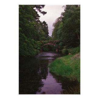 Glendalough Stone Arch Bridge Photo Print