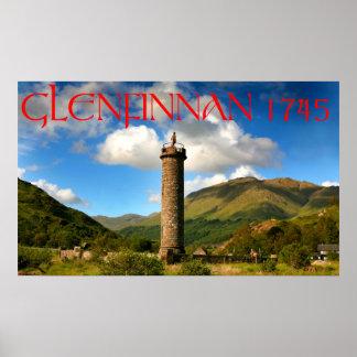 glenfinnan monument poster
