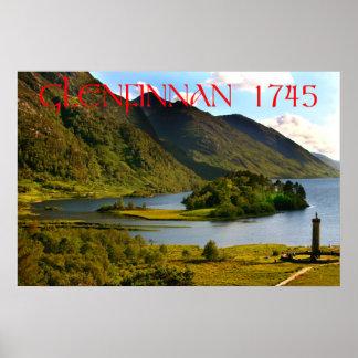 glenfinnan scotland poster
