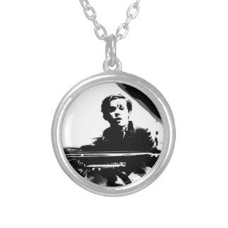 Glenn Gould Round Pendant Necklace