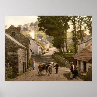 Glenoe Village, County Antrim archival print