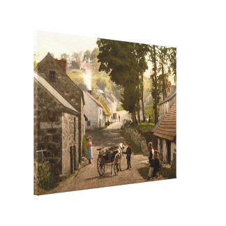 Glenoe Village, County Antrim, Northern Ireland Stretched Canvas Prints