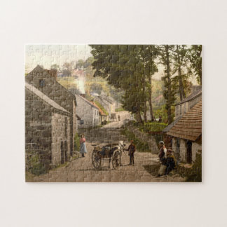 Glenoe Village, County Antrim, Northern Ireland Jigsaw Puzzle