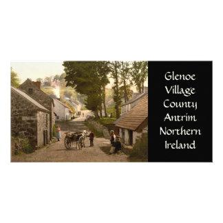 Glenoe Village County Antrim Photo Greeting Card