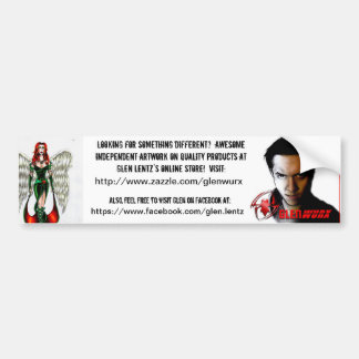 Glenwurx Promotional Bumper Sticker