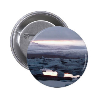 Gletscherlagune Island Button