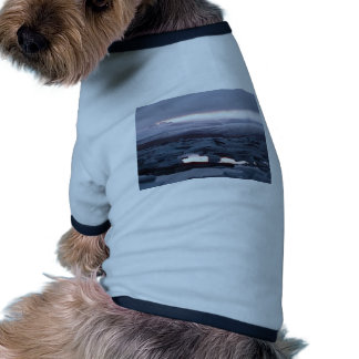 Gletscherlagune Island Dog Tee Shirt