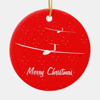 Glider Christmas Ornament