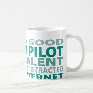 Glider Pilot 3% Talent Mugs