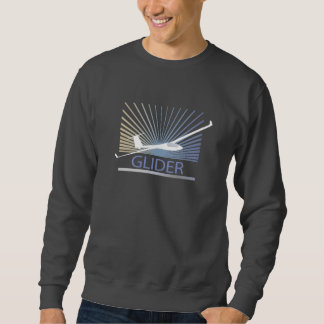 Glider Sailplane Aircraft Sweatshirt