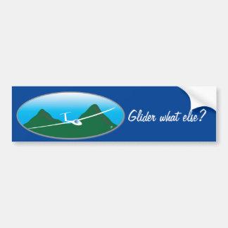 Glider - What else? Bumper Sticker