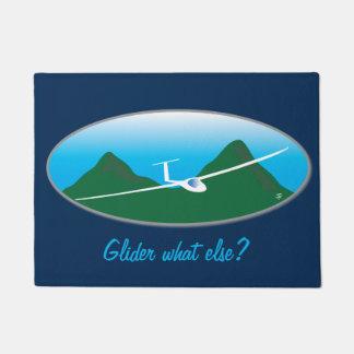 Glider - What else? Doormat