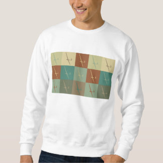 Gliding Pop Art Sweatshirt