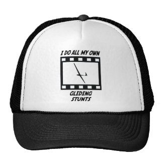 Gliding Stunts Trucker Hats