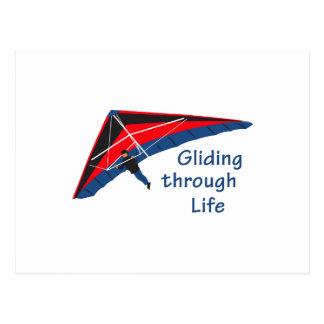 Gliding Through Life Postcard