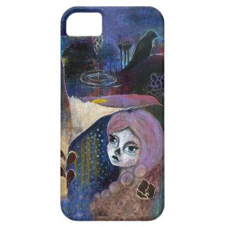 """""""Glimmer of a Life"""", Dia de los Muertos Art iPhone 5 Case"""