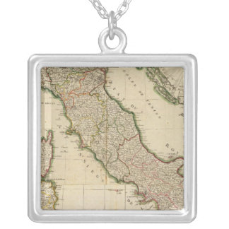Glimpse of Italy Silver Plated Necklace