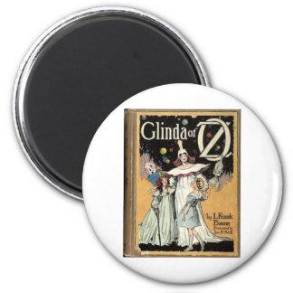 Glinda Of Oz 6 Cm Round Magnet