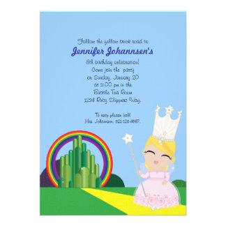 Glinda of Oz BIRTHDAY PARTY invitation
