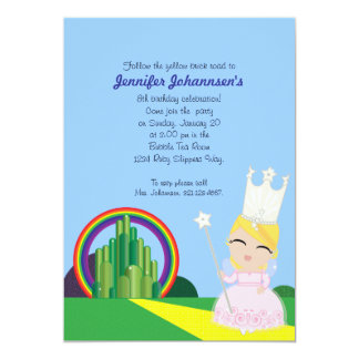 Glinda of Oz BIRTHDAY PARTY invitation