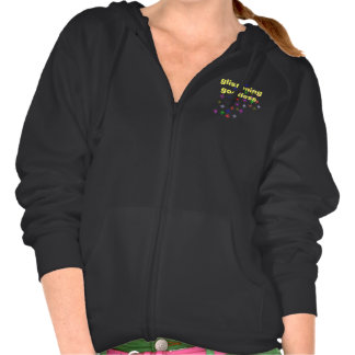 Glistening Goddess Hooded Sweatshirt