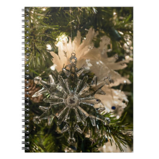 Glistening Holidays Spiral Notebook