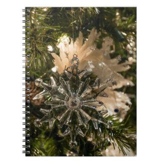 Glistening Holidays Spiral Notebook
