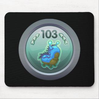 Glitch: achievement advanced larva lover mousepads