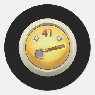 Glitch: achievement better than average mulcher round sticker