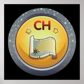Glitch: achievement choru completist poster