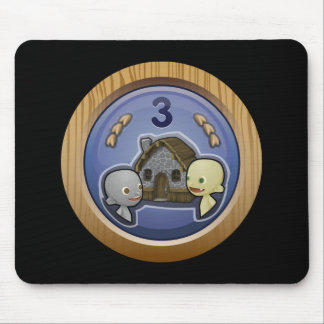 Glitch: achievement crowded house mouse pads