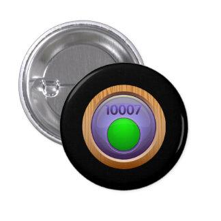 Glitch: achievement exceptionally fine refiner 3 cm round badge