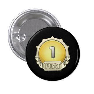 Glitch: achievement feat first 3 cm round badge