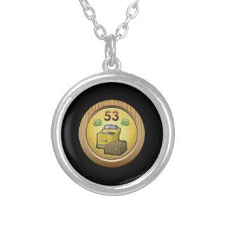 Glitch: achievement friend of the urth round pendant necklace