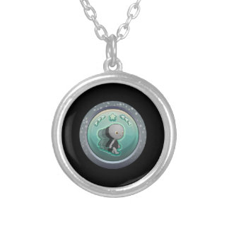 Glitch: achievement glitch train personalized necklace