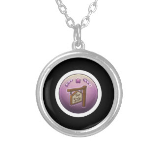 Glitch: achievement homesteader personalized necklace
