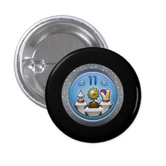 Glitch: achievement humble bragger 3 cm round badge