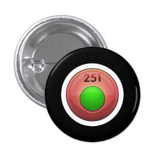 Glitch Achievement minor refiner green class 3 Cm Round Badge