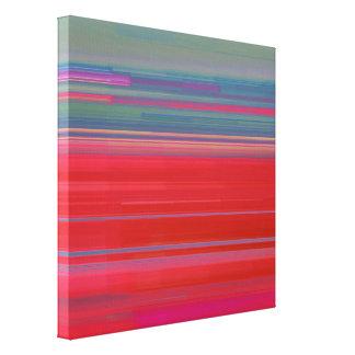 Glitch Art Canvas Print